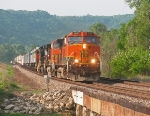 BNSF 1009,  BNSF's  Aurora  Sub.